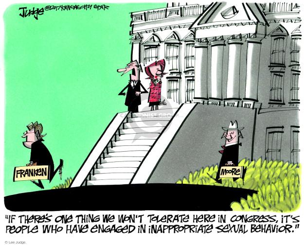 Cartoonist Lee Judge  Lee Judge's Editorial Cartoons 2017-12-10 editorial