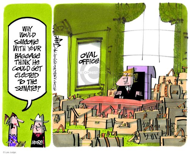 Cartoonist Lee Judge  Lee Judge's Editorial Cartoons 2017-12-12 editorial