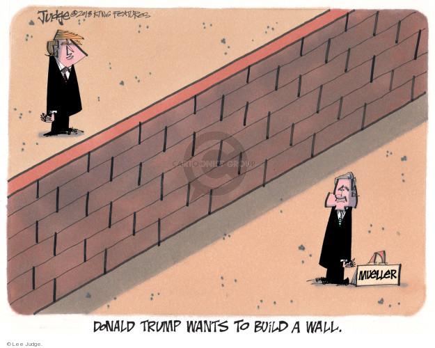 Lee Judge  Lee Judge's Editorial Cartoons 2018-01-09 Donald Trump
