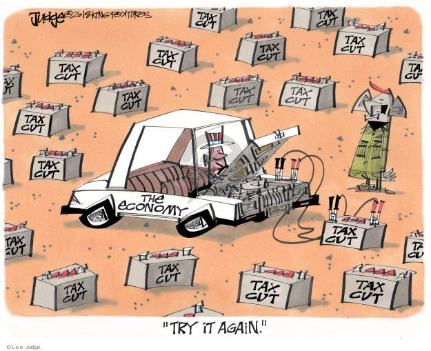 Cartoonist Lee Judge  Lee Judge's Editorial Cartoons 2018-01-11 congressional