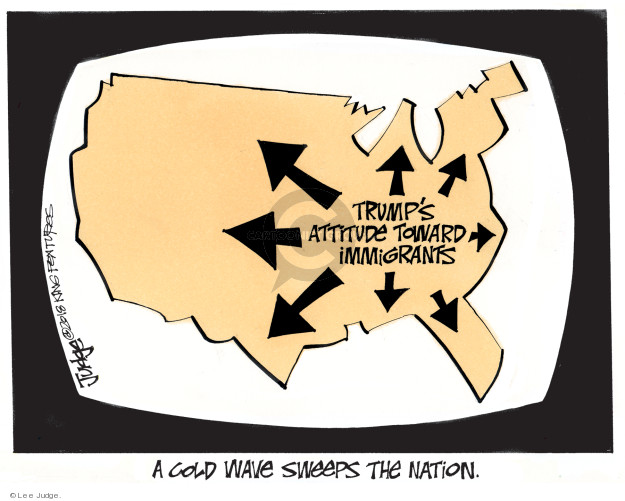 Lee Judge  Lee Judge's Editorial Cartoons 2018-01-16 Donald Trump