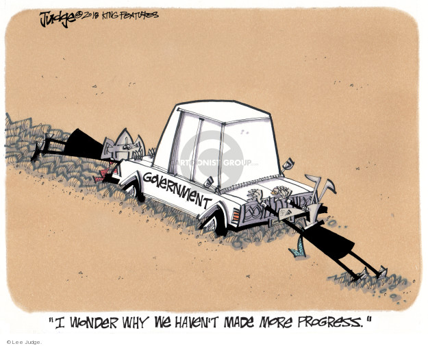 Cartoonist Lee Judge  Lee Judge's Editorial Cartoons 2018-01-22 editorial