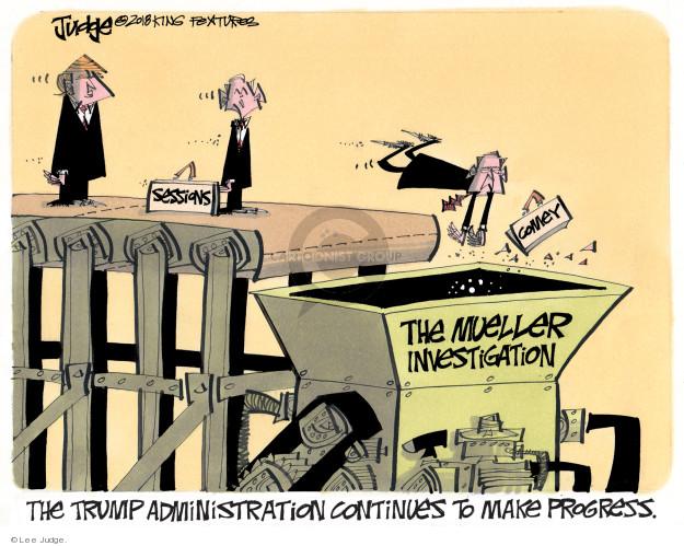 Lee Judge  Lee Judge's Editorial Cartoons 2018-01-24 Donald Trump
