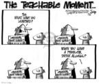 Cartoonist Lee Judge  Lee Judge's Editorial Cartoons 2009-07-31 problem