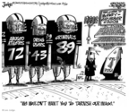 Cartoonist Lee Judge  Lee Judge's Editorial Cartoons 2009-10-15 usage