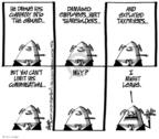 Cartoonist Lee Judge  Lee Judge's Editorial Cartoons 2009-10-25 taxpayer