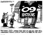 Cartoonist Lee Judge  Lee Judge's Editorial Cartoons 2009-11-07 professional football