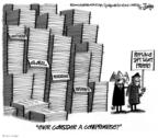 Cartoonist Lee Judge  Lee Judge's Editorial Cartoons 2009-12-11 science