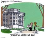 Cartoonist Lee Judge  Lee Judge's Editorial Cartoons 2010-02-10 bipartisan