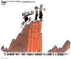 Cartoonist Lee Judge  Lee Judge's Editorial Cartoons 2010-02-24 bipartisan