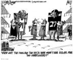 Cartoonist Lee Judge  Lee Judge's Editorial Cartoons 2010-03-27 professional football