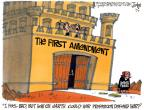Cartoonist Lee Judge  Lee Judge's Editorial Cartoons 2010-06-09 retirement
