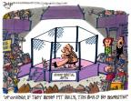 Cartoonist Lee Judge  Lee Judge's Editorial Cartoons 2010-06-18 animal cruelty