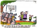 Cartoonist Lee Judge  Lee Judge's Editorial Cartoons 2010-07-04 dependent