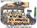 Cartoonist Lee Judge  Lee Judge's Editorial Cartoons 2010-10-01 professional football