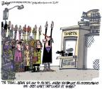 Cartoonist Lee Judge  Lee Judge's Editorial Cartoons 2010-11-27 sporting