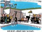 Cartoonist Lee Judge  Lee Judge's Editorial Cartoons 2011-02-05 professional football