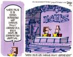 Cartoonist Lee Judge  Lee Judge's Editorial Cartoons 2011-03-23 preparation