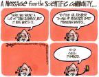 Cartoonist Lee Judge  Lee Judge's Editorial Cartoons 2011-04-07 science