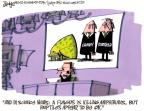 Cartoonist Lee Judge  Lee Judge's Editorial Cartoons 2011-05-10 science