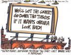 Cartoonist Lee Judge  Lee Judge's Editorial Cartoons 2011-07-14 bipartisan