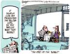 Cartoonist Lee Judge  Lee Judge's Editorial Cartoons 2011-10-20 stolen