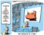 Cartoonist Lee Judge  Lee Judge's Editorial Cartoons 2011-10-26 science