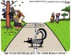 Cartoonist Lee Judge  Lee Judge's Editorial Cartoons 2011-11-04 charge
