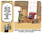 Cartoonist Lee Judge  Lee Judge's Editorial Cartoons 2012-03-18 liberal