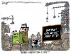 Cartoonist Lee Judge  Lee Judge's Editorial Cartoons 2012-04-11 North Korea