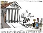 Cartoonist Lee Judge  Lee Judge's Editorial Cartoons 2012-07-01 going