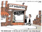Cartoonist Lee Judge  Lee Judge's Editorial Cartoons 2012-08-14 problem