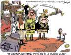 Cartoonist Lee Judge  Lee Judge's Editorial Cartoons 2012-09-27 problem