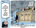 Cartoonist Lee Judge  Lee Judge's Editorial Cartoons 2012-12-02 John McCain