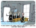 Cartoonist Lee Judge  Lee Judge's Editorial Cartoons 2013-04-12 blind