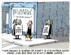 Cartoonist Lee Judge  Lee Judge's Editorial Cartoons 2013-05-19 partisan politics