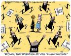 Cartoonist Lee Judge  Lee Judge's Editorial Cartoons 2013-01-24 partisan politics
