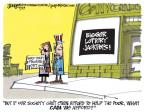 Cartoonist Lee Judge  Lee Judge's Editorial Cartoons 2013-09-19 education