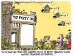 Cartoonist Lee Judge  Lee Judge's Editorial Cartoons 2013-10-09 extremist