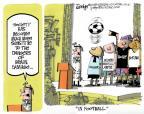 Cartoonist Lee Judge  Lee Judge's Editorial Cartoons 2013-12-05 athletics