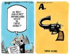Cartoonist Lee Judge  Lee Judge's Editorial Cartoons 2013-12-10 their