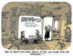 Cartoonist Lee Judge  Lee Judge's Editorial Cartoons 2014-02-05 republican democrat