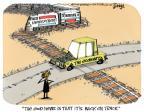Cartoonist Lee Judge  Lee Judge's Editorial Cartoons 2014-02-12 growth