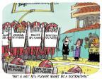 Cartoonist Lee Judge  Lee Judge's Editorial Cartoons 2014-02-13 athletics