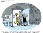 Cartoonist Lee Judge  Lee Judge's Editorial Cartoons 2014-02-20 partisan