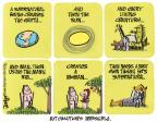 Cartoonist Lee Judge  Lee Judge's Editorial Cartoons 2014-03-16 religion science