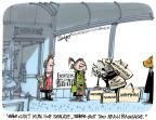 Cartoonist Lee Judge  Lee Judge's Editorial Cartoons 2014-04-18 human
