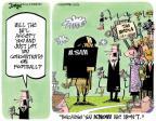 Cartoonist Lee Judge  Lee Judge's Editorial Cartoons 2014-05-13 NFL