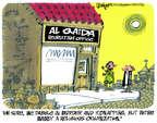 Cartoonist Lee Judge  Lee Judge's Editorial Cartoons 2014-08-03 extremist