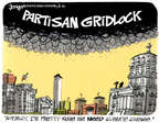 Cartoonist Lee Judge  Lee Judge's Editorial Cartoons 2014-08-31 partisan